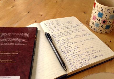Notebook, Novel, & Tea